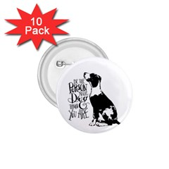 Dog Person 1 75  Buttons (10 Pack)