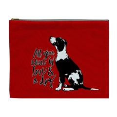 Dog Person Cosmetic Bag (xl) by Valentinaart