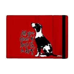 Dog Person Ipad Mini 2 Flip Cases by Valentinaart