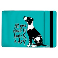 Dog Person Ipad Air Flip by Valentinaart