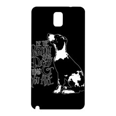 Dog Person Samsung Galaxy Note 3 N9005 Hardshell Back Case by Valentinaart