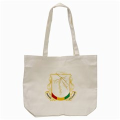 Coat Of Arms Of Republic Of Guinea  Tote Bag (cream) by abbeyz71