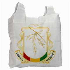 Coat Of Arms Of Republic Of Guinea  Recycle Bag (one Side) by abbeyz71