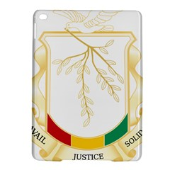 Coat Of Arms Of Republic Of Guinea  Ipad Air 2 Hardshell Cases by abbeyz71