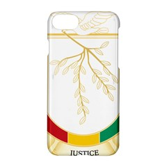Coat Of Arms Of Republic Of Guinea  Apple Iphone 7 Hardshell Case