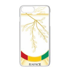 Coat Of Arms Of Republic Of Guinea  Apple Iphone 7 Plus White Seamless Case