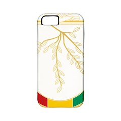 Coat Of Arms Of Republic Of Guinea  Apple Iphone 5 Classic Hardshell Case (pc+silicone) by abbeyz71
