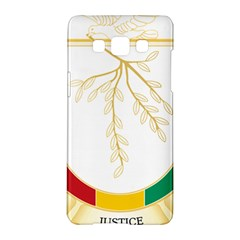 Coat Of Arms Of Republic Of Guinea  Samsung Galaxy A5 Hardshell Case  by abbeyz71