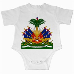 Coat Of Arms Of Haiti Infant Creepers