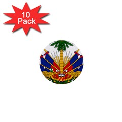 Coat Of Arms Of Haiti 1  Mini Buttons (10 Pack)