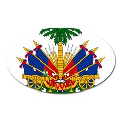 Coat Of Arms Of Haiti Oval Magnet