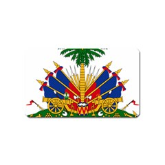 Coat Of Arms Of Haiti Magnet (name Card) by abbeyz71