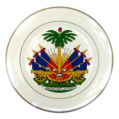 Coat Of Arms Of Haiti Porcelain Plates by abbeyz71