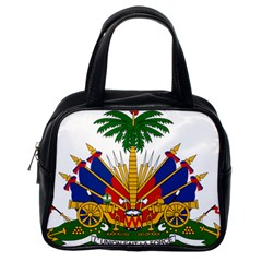 Coat Of Arms Of Haiti Classic Handbags (one Side)