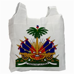 Coat Of Arms Of Haiti Recycle Bag (one Side) by abbeyz71