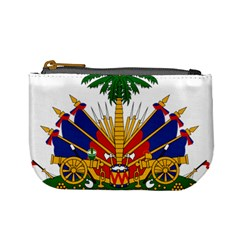 Coat Of Arms Of Haiti Mini Coin Purses by abbeyz71