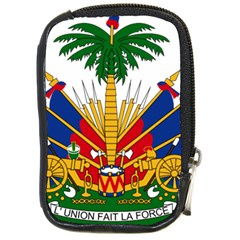 Coat Of Arms Of Haiti Compact Camera Cases