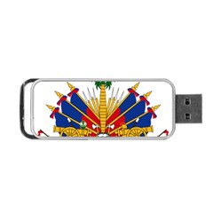 Coat Of Arms Of Haiti Portable Usb Flash (two Sides)