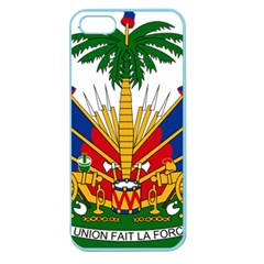Coat Of Arms Of Haiti Apple Seamless Iphone 5 Case (color)
