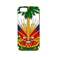 Coat Of Arms Of Haiti Apple Iphone 5 Classic Hardshell Case (pc+silicone) by abbeyz71
