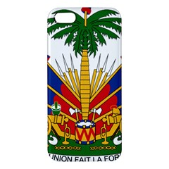 Coat Of Arms Of Haiti Iphone 5s/ Se Premium Hardshell Case by abbeyz71