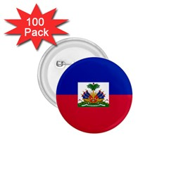 Flag Of Haiti  1 75  Buttons (100 Pack)  by abbeyz71