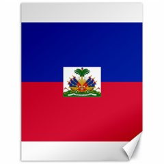 Flag Of Haiti  Canvas 18  X 24   by abbeyz71