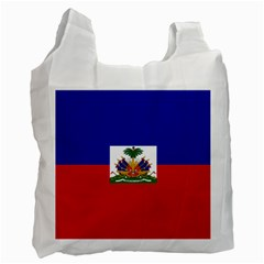 Flag Of Haiti  Recycle Bag (one Side) by abbeyz71
