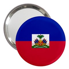Flag Of Haiti  3  Handbag Mirrors by abbeyz71