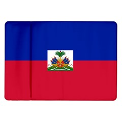Flag Of Haiti  Samsung Galaxy Tab 10 1  P7500 Flip Case by abbeyz71
