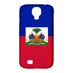 Flag Of Haiti  Samsung Galaxy S4 Classic Hardshell Case (pc+silicone) by abbeyz71