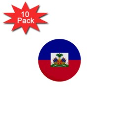 Flag Of Haiti 1  Mini Buttons (10 Pack)  by abbeyz71