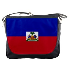 Flag Of Haiti Messenger Bags by abbeyz71