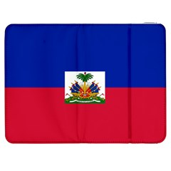 Flag Of Haiti Samsung Galaxy Tab 7  P1000 Flip Case by abbeyz71