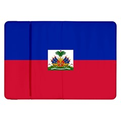 Flag Of Haiti Samsung Galaxy Tab 8 9  P7300 Flip Case by abbeyz71