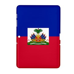 Flag Of Haiti Samsung Galaxy Tab 2 (10 1 ) P5100 Hardshell Case  by abbeyz71