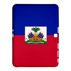 Flag Of Haiti Samsung Galaxy Tab 4 (10 1 ) Hardshell Case  by abbeyz71