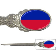 Civil Flag Of Haiti (without Coat Of Arms) Letter Openers by abbeyz71
