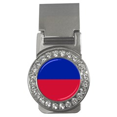 Civil Flag Of Haiti (without Coat Of Arms) Money Clips (cz)  by abbeyz71