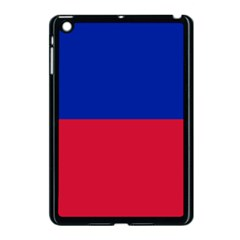 Civil Flag Of Haiti (without Coat Of Arms) Apple Ipad Mini Case (black) by abbeyz71