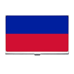 Civil Flag Of Haiti (without Coat Of Arms) Business Card Holders by abbeyz71