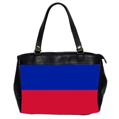 Civil Flag Of Haiti (without Coat Of Arms) Office Handbags (2 Sides)  by abbeyz71