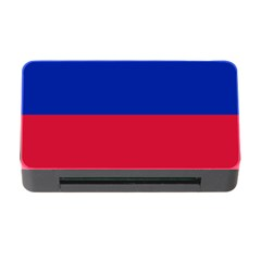 Civil Flag Of Haiti (without Coat Of Arms) Memory Card Reader With Cf by abbeyz71