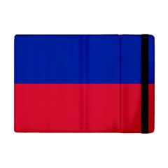 Civil Flag Of Haiti (without Coat Of Arms) Apple Ipad Mini Flip Case by abbeyz71