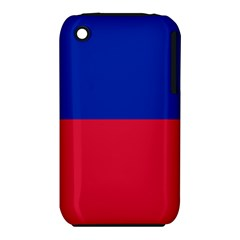 Civil Flag Of Haiti (without Coat Of Arms) Iphone 3s/3gs by abbeyz71