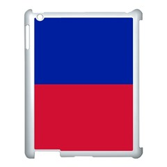 Civil Flag Of Haiti (without Coat Of Arms) Apple Ipad 3/4 Case (white) by abbeyz71
