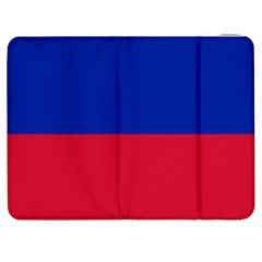Civil Flag Of Haiti (without Coat Of Arms) Samsung Galaxy Tab 7  P1000 Flip Case by abbeyz71