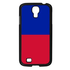 Civil Flag Of Haiti (without Coat Of Arms) Samsung Galaxy S4 I9500/ I9505 Case (black) by abbeyz71