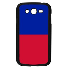 Civil Flag Of Haiti (without Coat Of Arms) Samsung Galaxy Grand Duos I9082 Case (black) by abbeyz71
