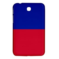 Civil Flag Of Haiti (without Coat Of Arms) Samsung Galaxy Tab 3 (7 ) P3200 Hardshell Case  by abbeyz71